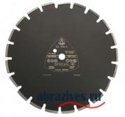 Алмазный отрезной круг Klingspor DL 100 A по асфальту