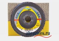 Klingspor лепестковый торцевой круг по металлу