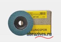 SMT 628 круг лепестковый торцевой Klingspor 125 мм прямой
