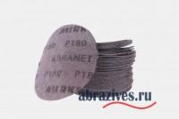 Круг шлифовальный самозацепляемый на сетчатой основе ABRANET 125 P180