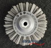 Брашировальная полимерабазивная щетка 140х30 М14