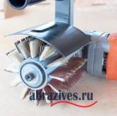 Щётка системы Brush 100 на болгарку