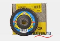 фото круг лепестковый торцевой по нержавеющей стали