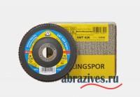 SMT 626 круг лепестковый торцевой Klingspor 125 мм фото
