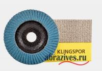 Круг лепестковый торцевой SMT 628 Supra 115*22.23 Klingspor