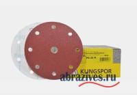 круг липучка 150 мм с центральным отверстием