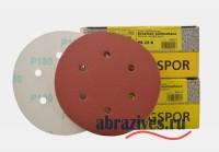 фото круг на липучке 150 мм с отверстиями