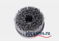 Цилиндрическая четырех-рядная полимерабазивная щетка