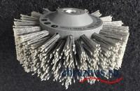 Цилиндрическая семи-рядная полимерабазивная щетка 140х30 М14